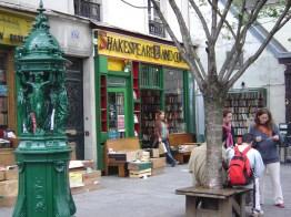 Livraria Shakespeare, livros em inglês, Paris