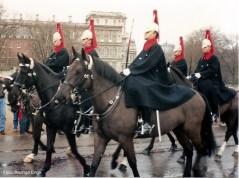 Londres, troca da Guarda