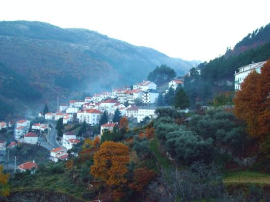 Manteigas no outono, Serra da Estrela