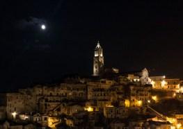 Matera à noite, Basilicata, Itália