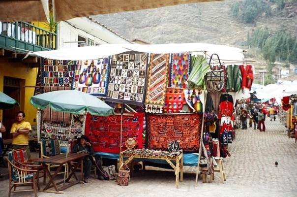 Mercado de Pisca, Valle Sagrado, Peru