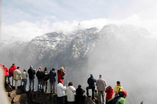 Mirador no Valle del Colca