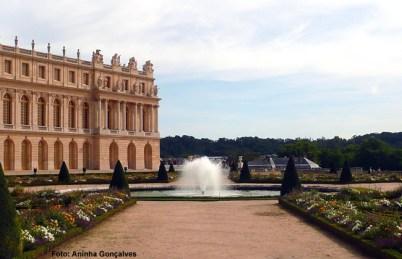 O castelo e os jardins, Versalhes, França