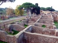 Ostia Antica, um sítio arqueológico enorme