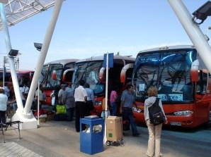 Onibus, transporte confortável e barato no Chile