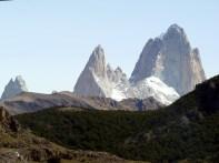 Os picos na fronteira com o Chile, El Chaltén, Argentina