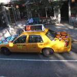 Táxis típicos de Nova York, foto Barão
