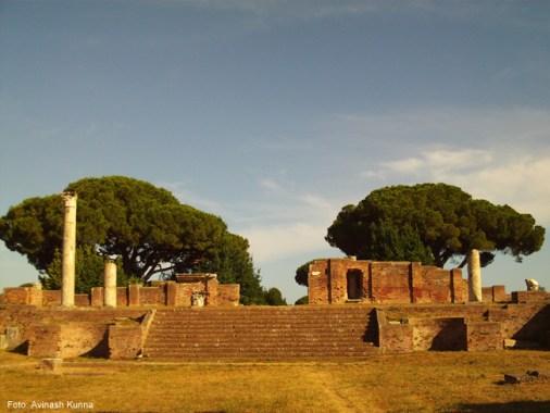 Ostia Antica, Lácio, Itália