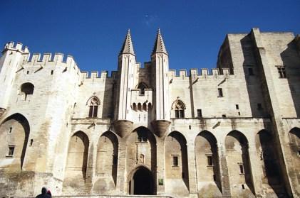 Palácio dos Papas, em Avignon, França