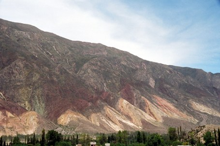 Paleta del Pintor, Quebrada de Humahuca