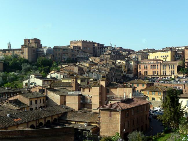 Panorâmica, Siena, Itália