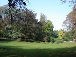 Parque de Montsouris no verão, Paris