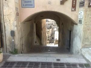 Passagem em Matera