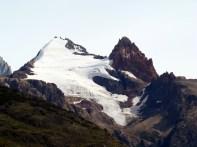 Picos nevados próximos a El Chaltén
