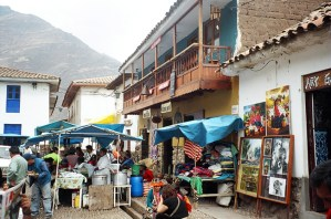 Pisac, mercado de artesanatos, Vale Sagrado - Foto Manual do Turista