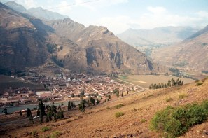 Pisac, vista panorâmica, Valle Sagrado de los Incas - Foto Manual do Turista