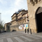 Porta na fortalezxa de San Marino