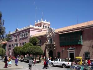 Potosí, Plaza de Armas