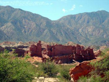 Quebrada de Cafayate, na Argentina, formacoes-rochosas