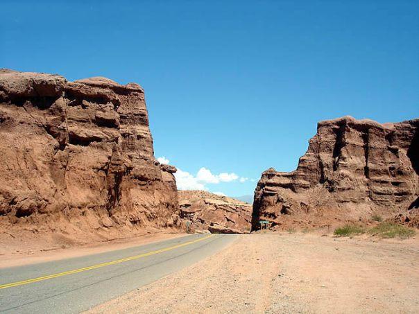 Quebrada de Cafayate, no Noroeste da Argentina