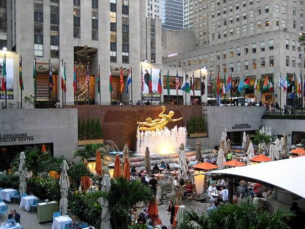 Rockefeller Center, New York, foto Barão