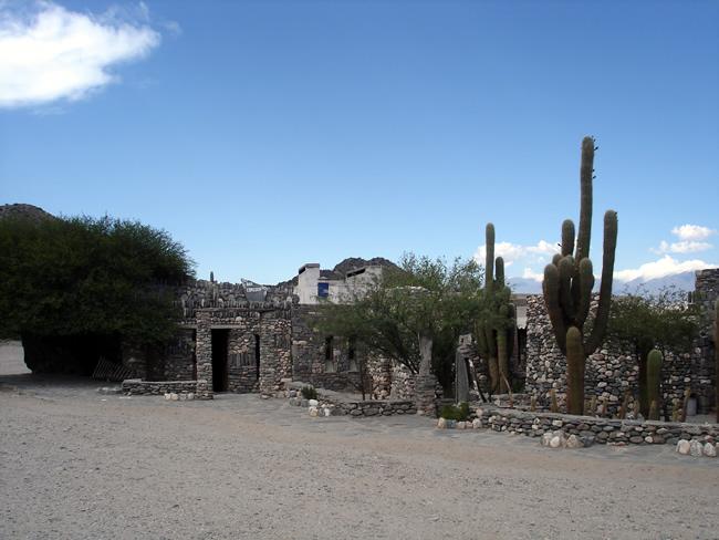 Ruínas de cidadela quilmes, noroeste da Argentina