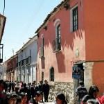 Rua em Potosí, Bolívia