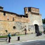 Muralhas de San Gimignano, Toscana, Itália