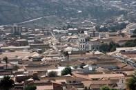 Sucre, Bolívia, vista panorâmica