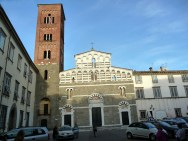 Lucca, na Toscana, Itália