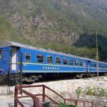 Trem em Machu Picchu