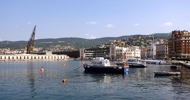 Trieste, capital do Friuli Venezia Hiulia, foto Xiquinhosilva CCB