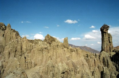 Valle de la Luna, próximo a La Paz