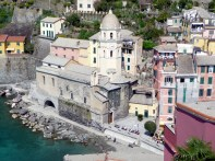 Vernazza, Cinque Terre, Riviera, Itália