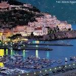 Vista panorâmica de Amalfi, Itália