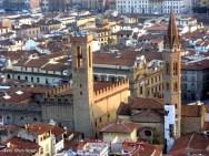 Vista de Florença, Itália