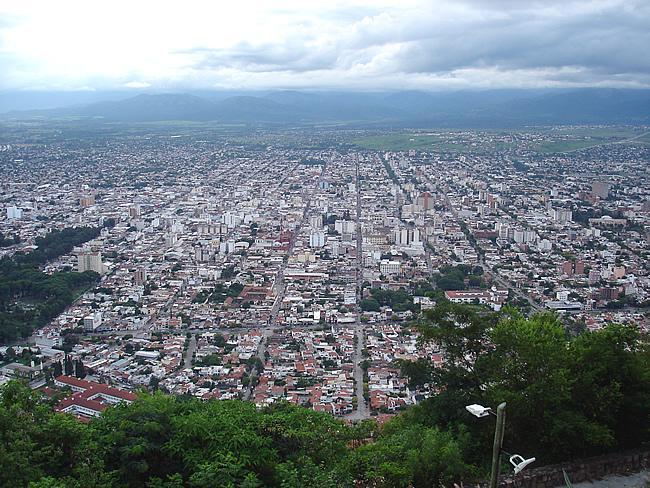 Vista panorâmica de Salta