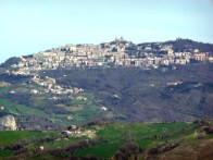 Vista panorâmica de San Marino