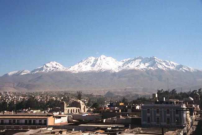 Vulcão El Misti, Arequipa