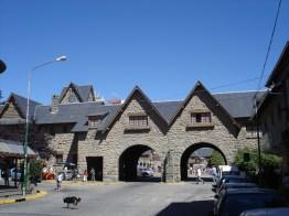 Portal do Centro Cívico, Bariloche