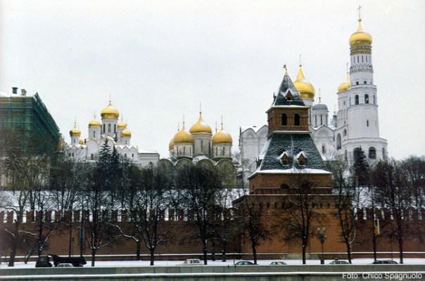 Às margens do Volga, Moscou, foto Chico Spagnuolo