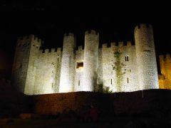 Construção medieval em Óbidos, Portugal