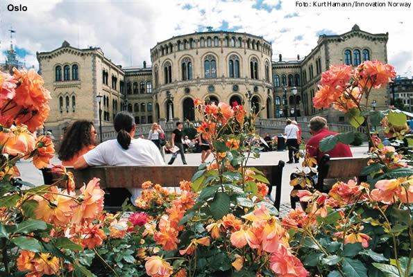 Oslo, capital da Noruega