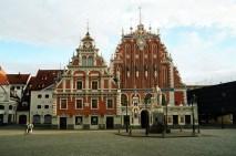 Arquitetura tradicional, Riga, Letônia
