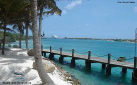 Aruba praia do resortt