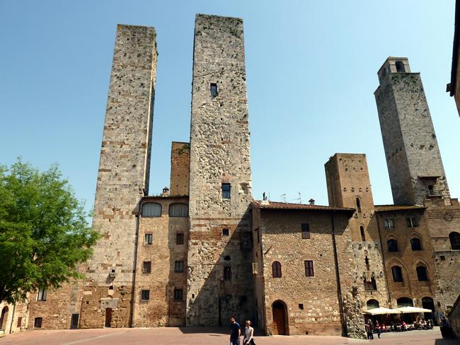 Torres gêmeas de San Gimignano, Itália