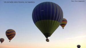 Balonismo em Goreme, Capadócia, Turquia, foto Chico Spagnuolo