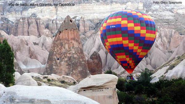 Balonismo na Capadócia, foto Chico Spagnuolo