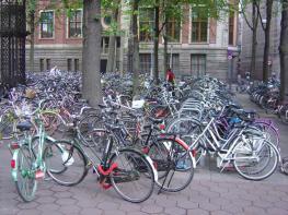 Bicicletas, Amsterdam