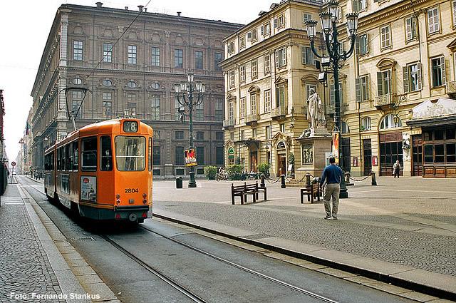 Bonde em Torino, foto de Chico Spagnuolo. jpg